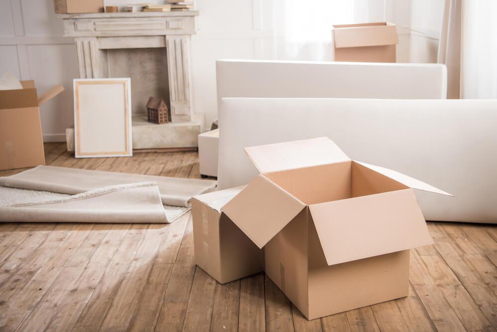 Gepackte Kisten