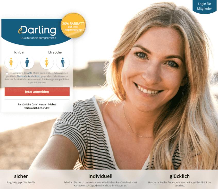 e-Darling Seite